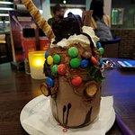 deluxe chocolate shake