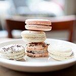 Nutmeg Cake Design's Cookies & Cream French Macarons