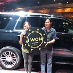 Club Serrano member Patcharee won a 2018 Cadillac Escalade on May 10.