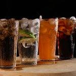 Cardápio com diversas opções de Bebidas