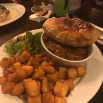 Dish: puff beef and potatoes