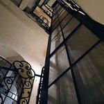 Old elevator shaft