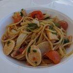 Restaurante Acmet Pascià - Spaghetti con pescado