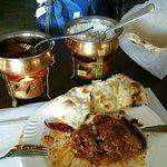 Excellente indische Gerichte.