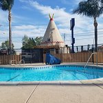 Wigwam pool and office