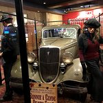 The original Bonnie and Clyde death car