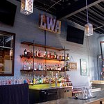 Enjoy casual conversation over a custom cocktail or local craft beer.