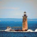 """Bonus"" lighthouse in the distance!"