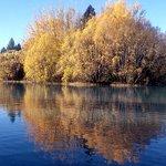 Magic mirrored autumn colours