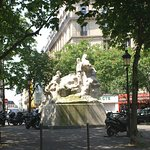 La statue de Léon Serpollet Εικόνα