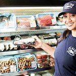 Mariah is happy to help you with any questions you may have in our Fish Market.