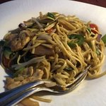 Shanghai noodle with premium lime soy