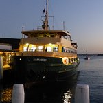 Manly ferry to circular quay