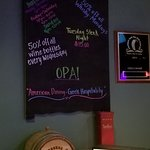 Great weekly specials. Try the Russell's Bourbon!