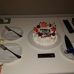 A nice cake by Judith for our parents anniversary celebration