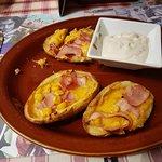 a sample of the potato skins already eaten 3 sorry,,