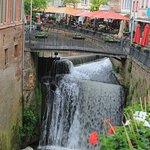 Saarburg Waterfall resmi
