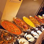 We can offer buffet dining by arrangement with the management.