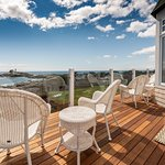 Decks overlooking the Nubble