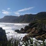 the ocean and pancake rocks