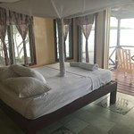 our room with overwater balcony
