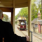 Old school tram ride at Crich