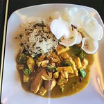 Delicious Thai Green Curry.