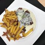 Bavette sauce roquefort