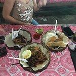 Foto Pasar Malam Gili Trawangan