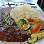 New York Steak was great!