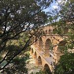 صورة فوتوغرافية لـ Pont du Gard