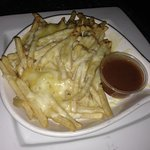 Cheesy fries. These weren't my fave. Was expected different cheese but still good!