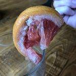 Errrr thanks for the bacteria on the grapefruit!