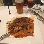 Red Mole Pork Tenderloin Cutlets with a Belt And Suspenders IPA