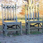 kentucky horse park - the chairs