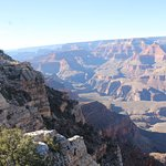 A view of the Grand Canyon from the Grandview Point