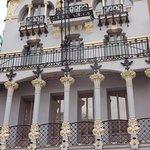 Edificio de principios del siglo XX en la Plaza del torico.