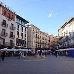 Vista general Plaza del torico.