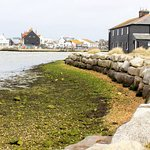 View of Mudeford Quay and The Black House.