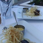 Grass Fed Filet Mashed and Onion Strings 1 Meal (Split Plates)