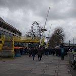 the sadly idle iconic London Eye
