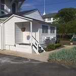 One of three Pet Friendly Cottages with kitchens, patios and Air Conditioning