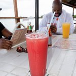 Delicious fruit watermelon juice