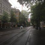 Sleepy day in Zurich