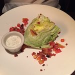 Wedge Salad - dressing on the side