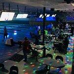Glow light bowling Friday and Saturday Nights