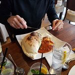 The Calzone was particularly good, it comes served with bolognese sauce.