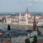 View of Parliament House from the Buda Castle area