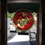 USMC Stained Glass