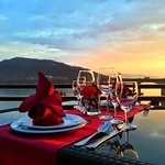 Great place to chill out and enjoy sunset view of Mekong River